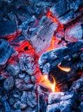 Brennende Kohle Lizenzfreie Stockfotografie