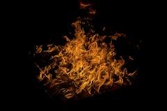 Brennende Palette Lizenzfreie Stockfotos