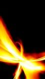 Brennender abstrakter Plan stock abbildung