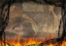 Brennender Auszug Lizenzfreies Stockfoto