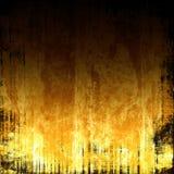 Brennender Grunge Hintergrund Stockbild