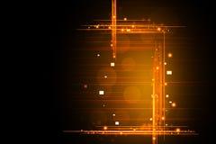 Brennender Hintergrund Stockfoto