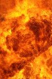 Brennender Hintergrund Lizenzfreies Stockfoto