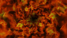 Brennender Ring, Flammen Hintergrund, Natur Lizenzfreie Stockfotos