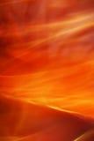 Brennender Sturm Stockfotografie