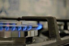 BRENNENDES GAS Lizenzfreie Stockfotografie