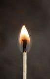 Brennendes Match Stockbilder