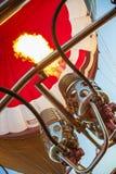 Brenner eines Heißluft-Ballons Lizenzfreies Stockfoto