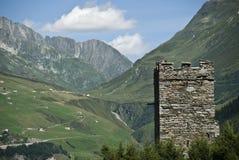 Brenner Suiza escénica Imagen de archivo libre de regalías
