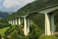 Brennerautobahn Royalty Free Stock Image