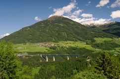 Brennerautobahn Stock Photo