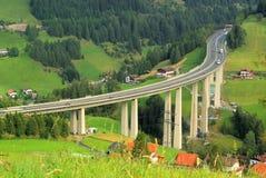 Brennerautobahn Royalty Free Stock Photos