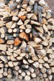 Brennholz 1 Lizenzfreies Stockbild