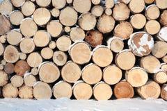 Brennholz. Lizenzfreie Stockfotografie