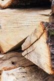 Brennholz 2 Stockbilder