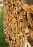 Brennholz Lizenzfreie Stockfotos