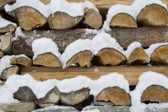 Brennholz [3] Stockfoto