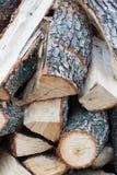 Brennholz 4 Lizenzfreies Stockfoto