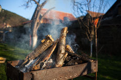 brennholz Lizenzfreie Stockfotografie