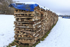 brennholz Stockbild
