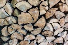 Brennholz, abstrakte Beschaffenheit und Hintergrund lizenzfreie stockbilder