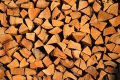 Brennholz für Ofen Lizenzfreie Stockbilder