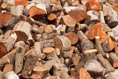 Brennholz zu Hause Lizenzfreies Stockfoto
