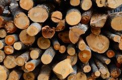 Brennholzklotz Stockfotos