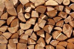 Brennholzstapel Lizenzfreie Stockfotografie