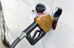 Brennstoff herauf das Benzin Lizenzfreie Stockfotos