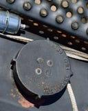 Brennstoff-Kappe beschrifteter Dieselkraftstoff nur mit Filter Lizenzfreie Stockfotografie