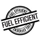 Brennstoffeffizienter Stempel stock abbildung