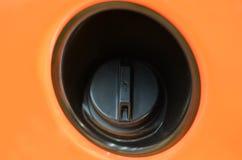 Brennstoffkappe Stockbild