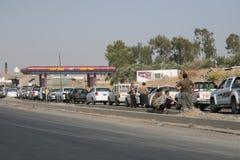 Brennstoffknappheit Lizenzfreies Stockfoto