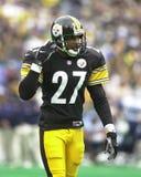 Brent Alexander. Pittsburgh Steelers DB Brent Alexander #27. (Image taken from color slide Royalty Free Stock Images