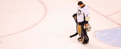 Brent Johnson Pittsburgh Penguins Stock Images