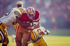 Brent Jones San Francisco 49ers. Former San Francisco 49ers Tight End Brent Jones.  (Image taken from color slide Stock Photography