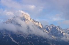 Brenta白云岩在欧洲 免版税库存照片