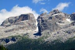 brenta di dolomiti italy berg Arkivbild
