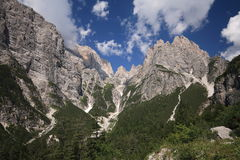 Brenta Dolomites Royalty Free Stock Photography
