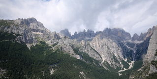 Brenta Dolomites Royalty Free Stock Photos