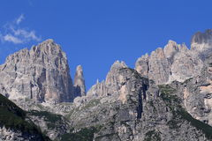 Brenta Dolomites Royalty Free Stock Images