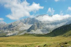 Brenta Dolomites, Italian Apls. Royalty Free Stock Photo