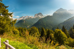 Brenta Group or Brenta Dolomites Royalty Free Stock Image