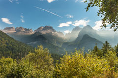 Brenta Group or Brenta Dolomites Stock Image