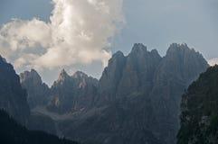 Brenta pass dolomites Stock Images
