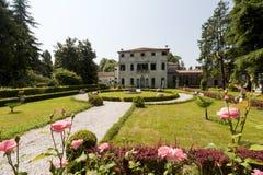 Brenta (Veneto, Italy) - Historic villa Stock Images