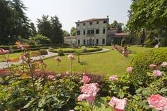 Brenta (Veneto, Italy) - Villa and garden Stock Photos