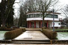 Brentano-парк Франкфурт Roedelheim Стоковое Фото