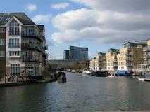 Brentford小游艇船坞,伦敦,英国, 免版税库存照片